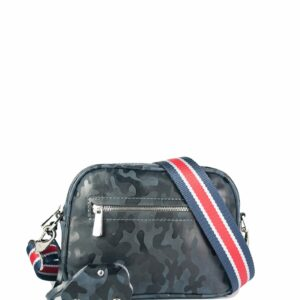 Функциональная серая женская сумка через плечо FBR-2320