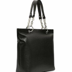 Кожаная черная женская сумка FBR-1347 227065