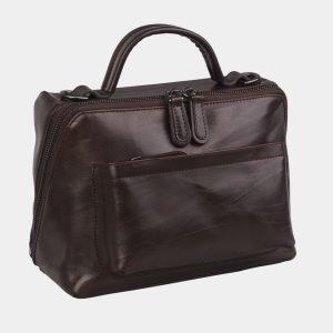 Стильная коричневая женская сумка ATS-3020 225750