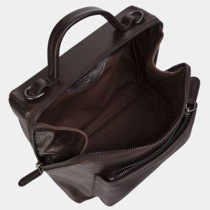 Стильная коричневая женская сумка ATS-3020 225752