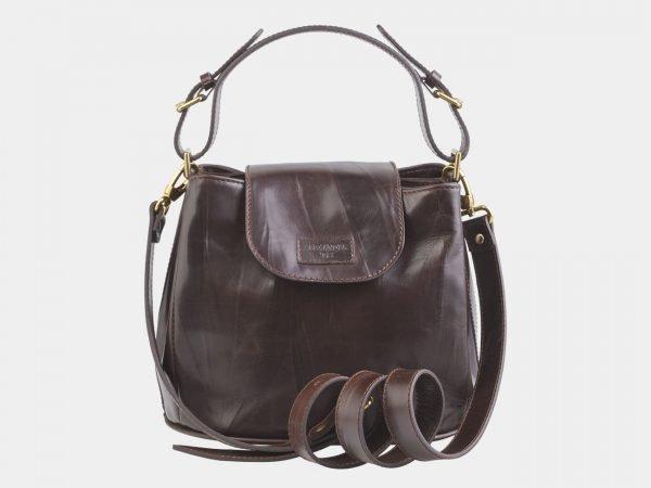 Солидная коричневая женская сумка ATS-2550
