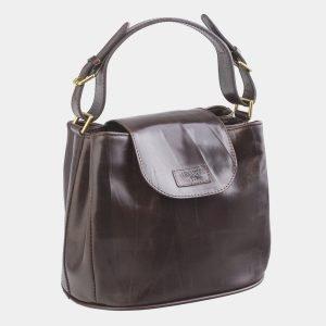 Солидная коричневая женская сумка ATS-2550 225760