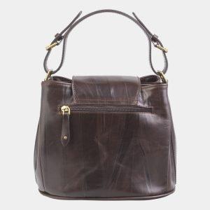 Солидная коричневая женская сумка ATS-2550 225761