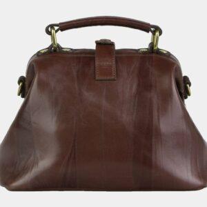 Вместительная светло-коричневая сумка с росписью ATS-2105 226416