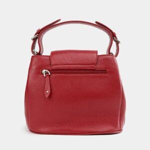 Вместительная красная женская сумка ATS-3743 226386