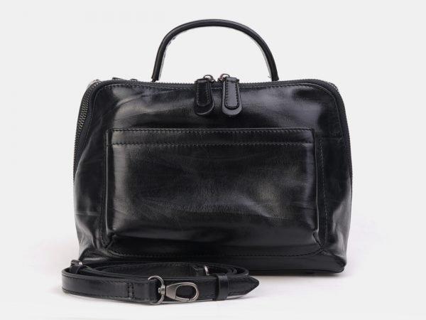 Модная черная женская сумка ATS-3294
