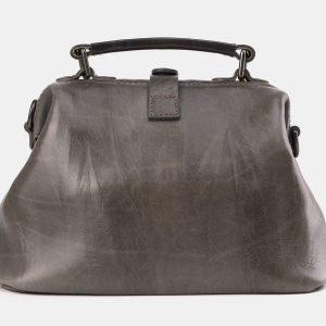 Вместительная серая сумка с росписью ATS-3968 225321