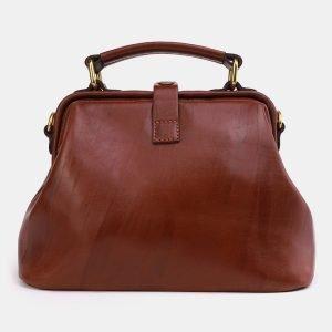 Удобная светло-коричневая сумка с росписью ATS-3969 225316