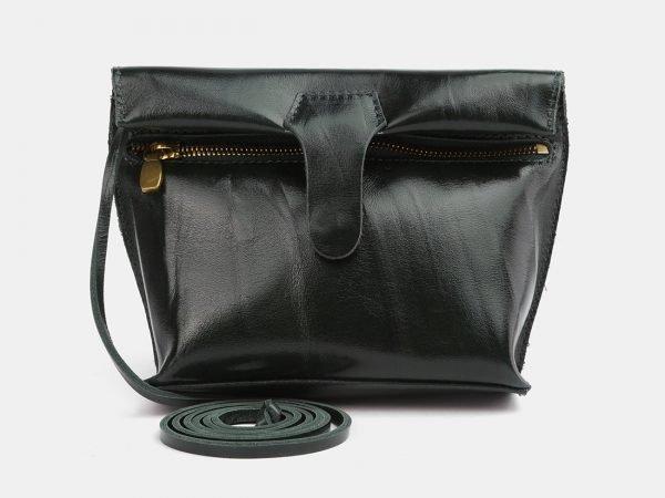 Функциональный зеленый женский клатч ATS-3971