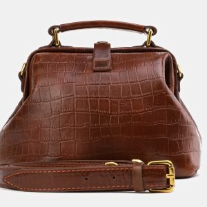 Вместительная светло-коричневая женская сумка ATS-3977