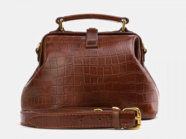 Деловая светло-коричневая женская сумка ATS-3977