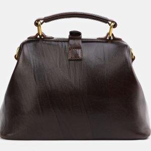 Неповторимая коричневая сумка с росписью ATS-3976 225607