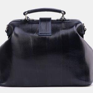 Неповторимая синяя сумка с росписью ATS-3997 225644