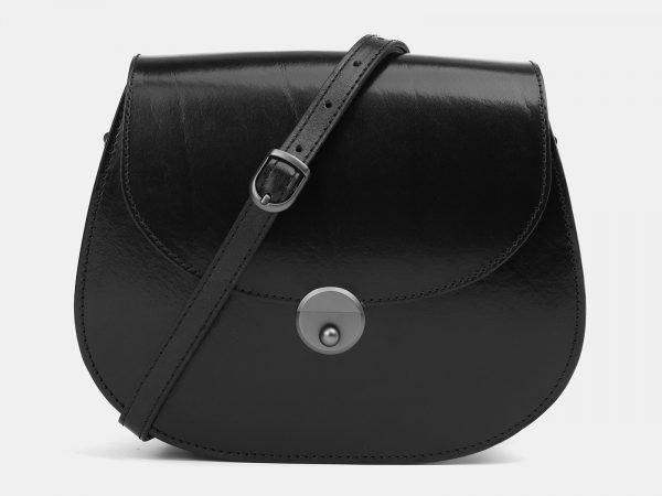 Стильный черный женский клатч ATS-3994