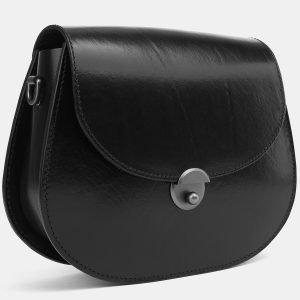 Стильный черный женский клатч ATS-3994 225658