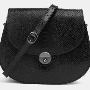 Функциональный черный женский клатч ATS-3995