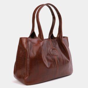 Функциональная светло-коричневая женская сумка ATS-2182 226405