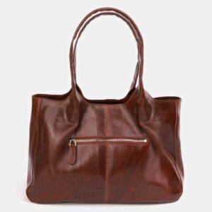 Функциональная светло-коричневая женская сумка ATS-2182 226406
