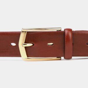 Стильный светло-коричневый мужской классический ремень ATS-4002 227022