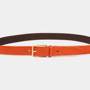 Стильный оранжевый мужской классический ремень ATS-4003