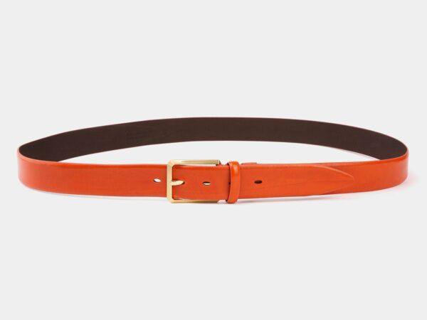Удобный оранжевый мужской классический ремень ATS-4003