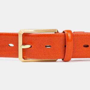 Удобный оранжевый мужской классический ремень ATS-4003 227018