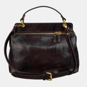 Функциональная коричневая женская сумка ATS-3161