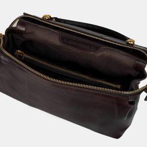 Функциональная коричневая женская сумка ATS-3161 225737