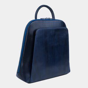 Уникальный синий рюкзак кожаный ATS-3255 226390