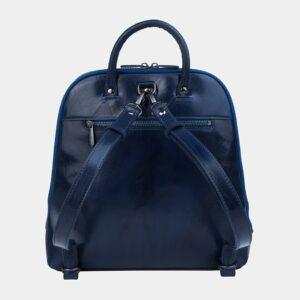 Уникальный синий рюкзак кожаный ATS-3255 226391