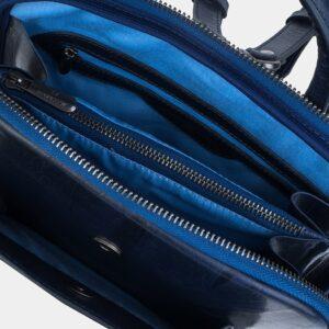 Уникальный синий рюкзак кожаный ATS-3255 226392