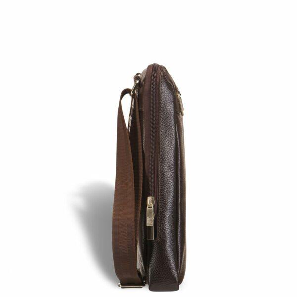 Солидная коричневая мужская кожгалантерея BRL-12057