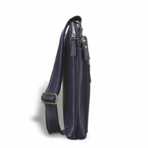 Удобная синяя мужская сумка BRL-7561
