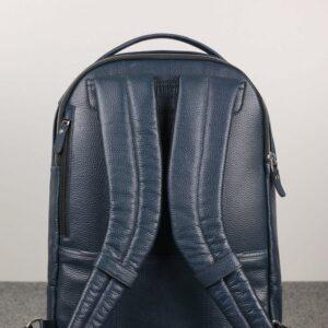 Солидный синий мужской деловой рюкзак BRL-45821 226917
