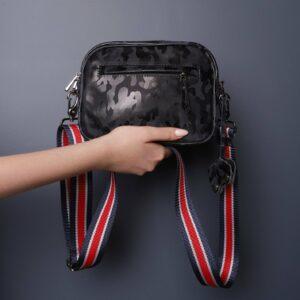 Функциональная серая женская сумка через плечо FBR-2320 226231