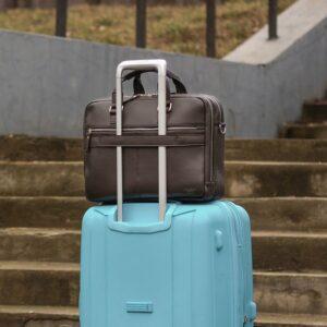 Солидный коричневый мужской портфель деловой BRL-44549 226722