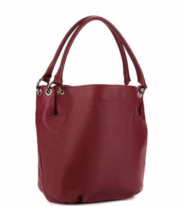 Вместительная бордовая женская сумка FBR-1864