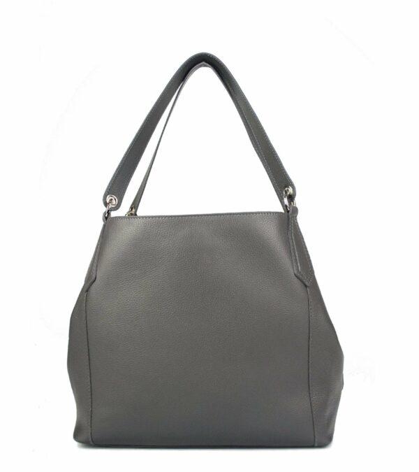 Солидная серая женская сумка FBR-2351