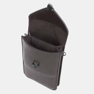 Удобный серый женский клатч ATS-3983 225577