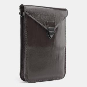 Стильный серый женский клатч ATS-3984 225571