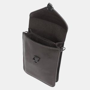 Стильный серый женский клатч ATS-3984 225572