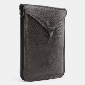 Уникальный серый женский клатч ATS-3986 225561