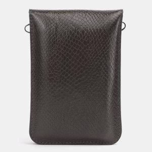Уникальный серый женский клатч ATS-3986 225562