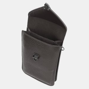 Уникальный серый женский клатч ATS-3986 225563