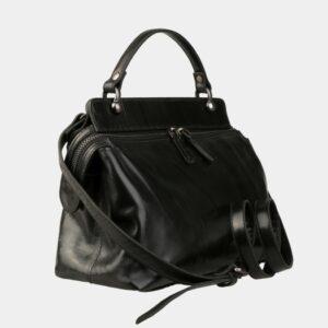 Деловая черная женская сумка ATS-3141 226395