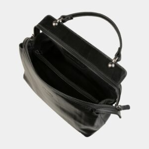 Деловая черная женская сумка ATS-3141 226397