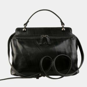 Деловая черная женская сумка ATS-3141