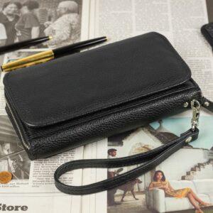 Стильный черный мужской портмоне клатч BRL-44372 229188