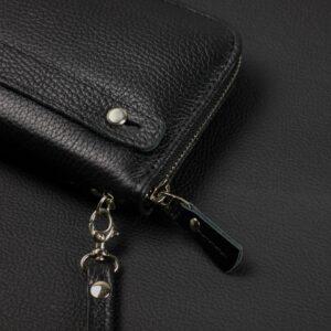 Стильный черный мужской портмоне клатч BRL-43905 229138