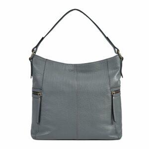 Функциональная серая женская сумка через плечо BRL-47452 229813